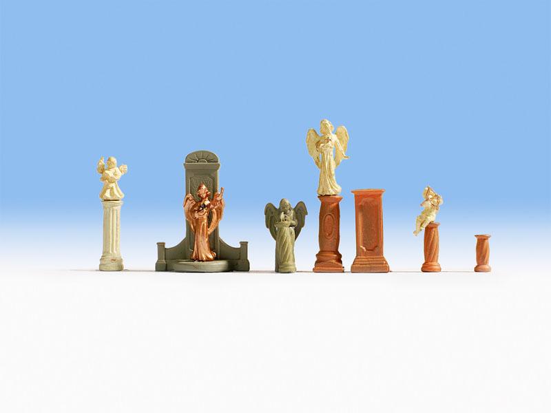 VO Noch 14872 Spur H0 Grabmäler und Statuen