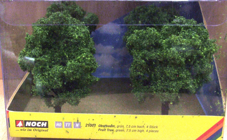 Noch 21001 Baumwürfel Obstbaum grün H0 TT N