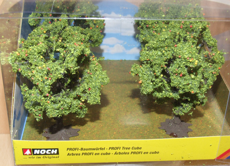 Noch 21002 Baumwürfel Apfelbaum mit Äpfeln H0 TT N