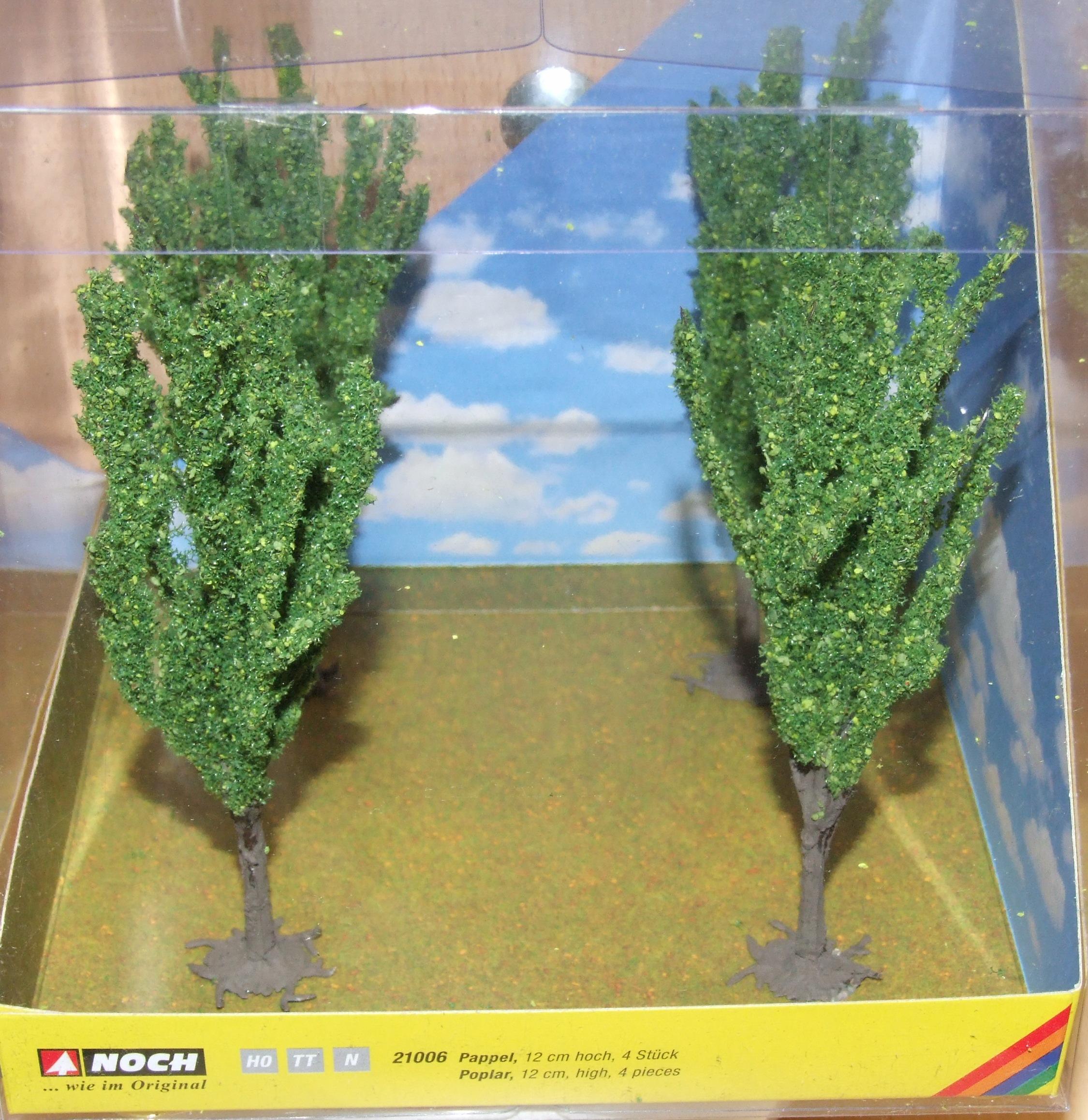 Noch 21006 Baumwürfel Pappel H0 TT N