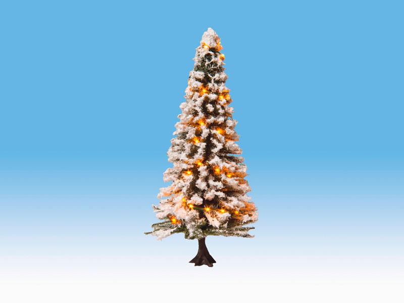 Noch 22130 Spur 0,H0,TT Beleuchteter Weihnachtsbaum mit 30 LEDs,