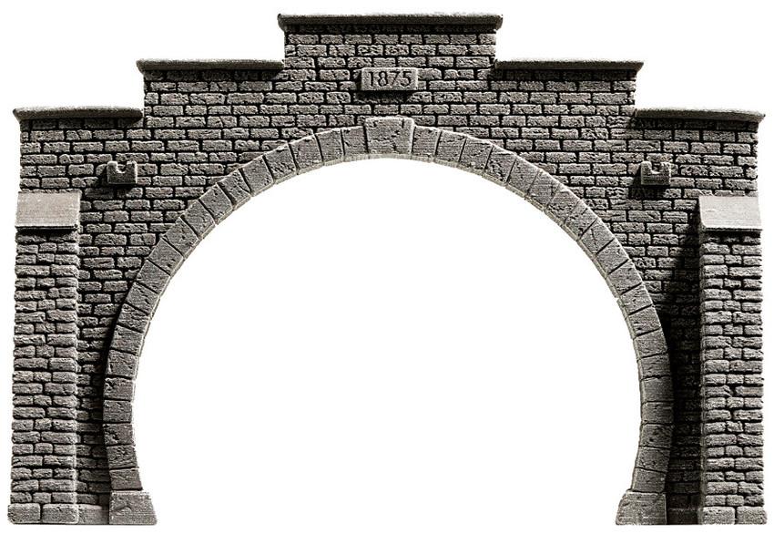 NOCH 58052 Tunnel-Portal,2gl.PROFI-plus