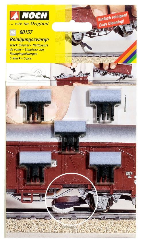 Noch HO 60157 Reinigungszwerge für die Schienen NEU