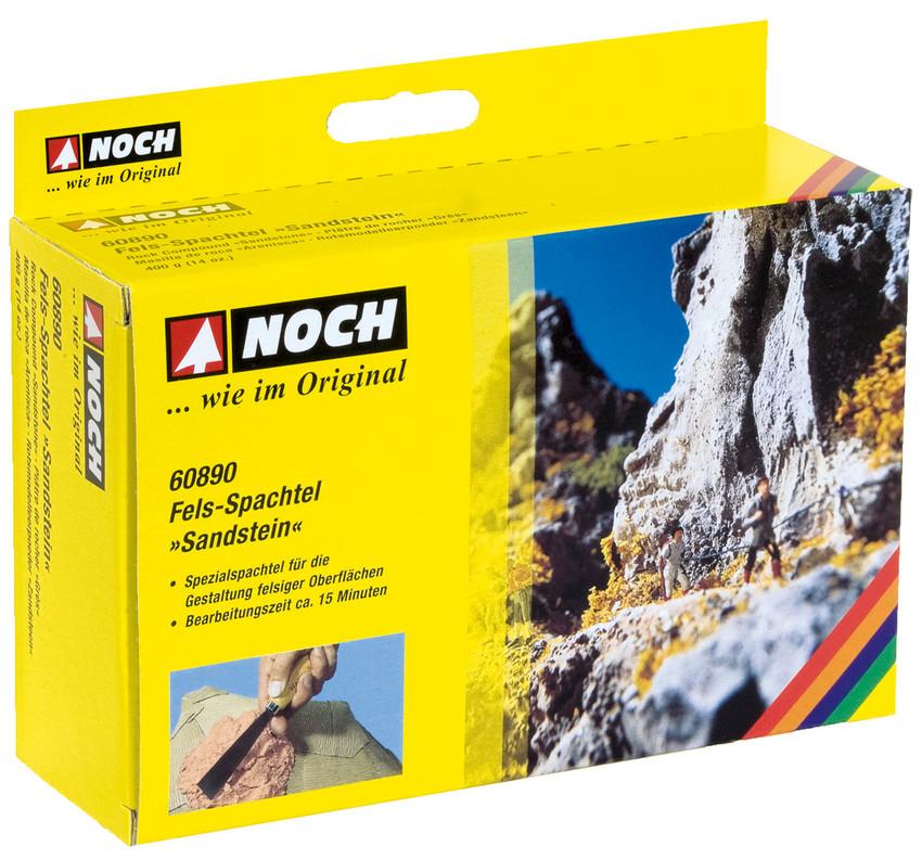 NOCH 60890 Felsspachtel Sandstein, braun, 400 g