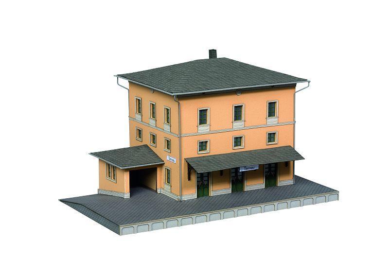 Noch h0 66004 laser cut bausatz bahnhof tannau ebay for 66004