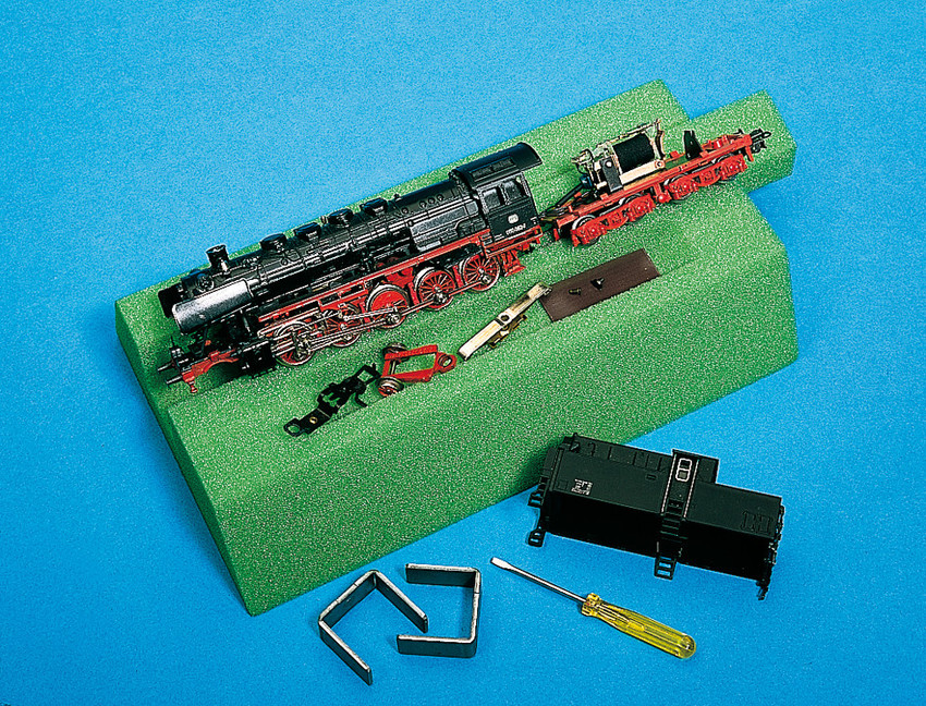 NOCH Spur N 99353 Lokliege 15 cm Schaumstoff grün