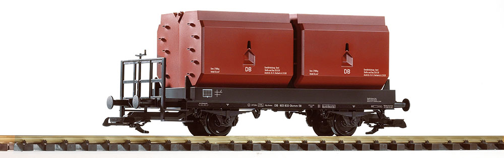 Piko 37770 Spur G Kübelwagen DB III m. Bb. Kokskübel