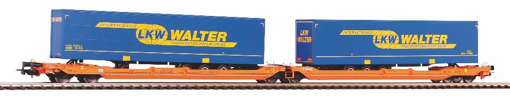 VO Piko 58979  Taschenwagen T3000e Wascosa VI zwei Auflieger LKW Walter
