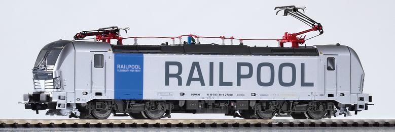 PIKO 59970 Spur H0 E-Lok Vectron 193 Railpool VI, 2 Pantos