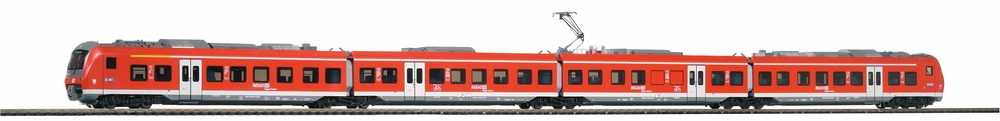 PIKO 59990 H0 Elektrotriebwagen BR 440 DB AG VI, 4-tlg DC