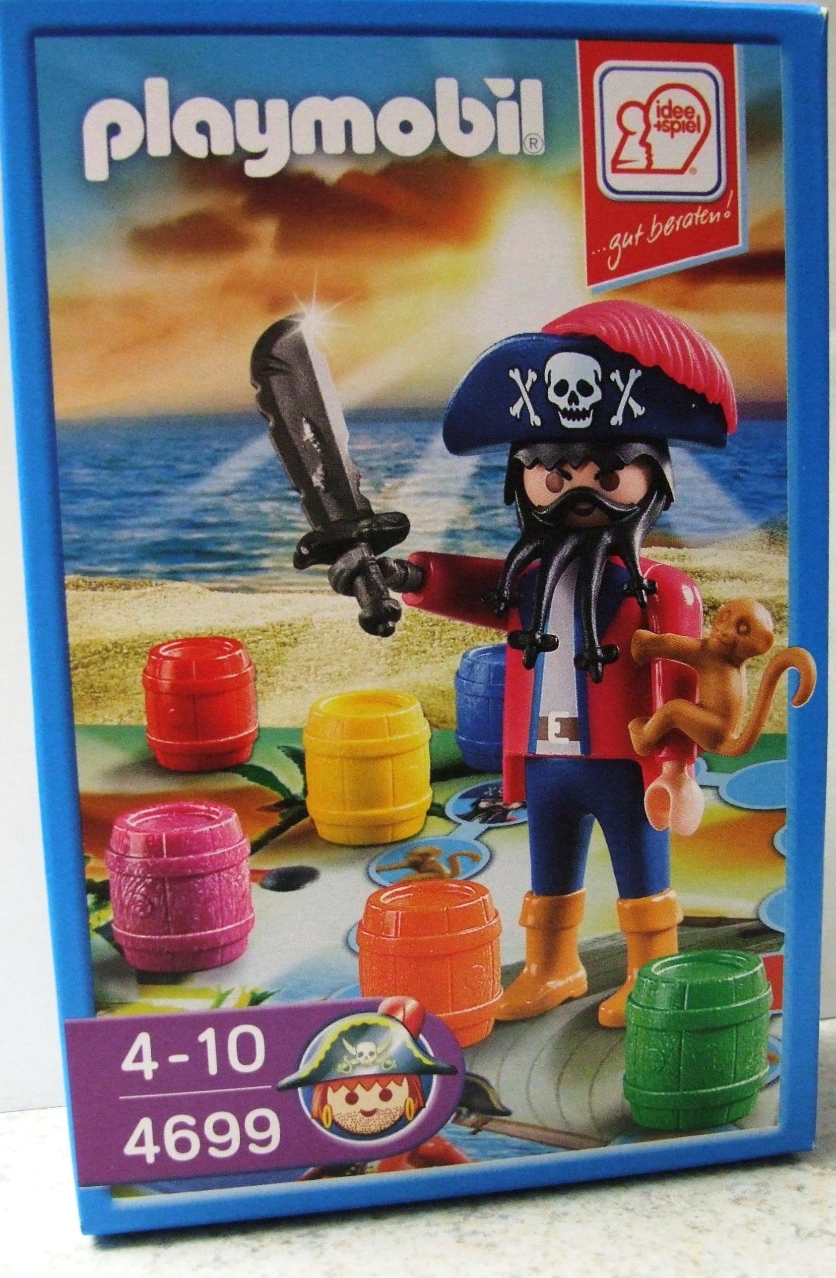 PLAYMOBIL ® 4699 Pirat Kapitän limitiert I + S
