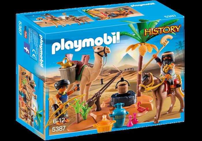 PLAYMOBIL® 5387 Grabräuber-Lager mit Kamel und Brunnen