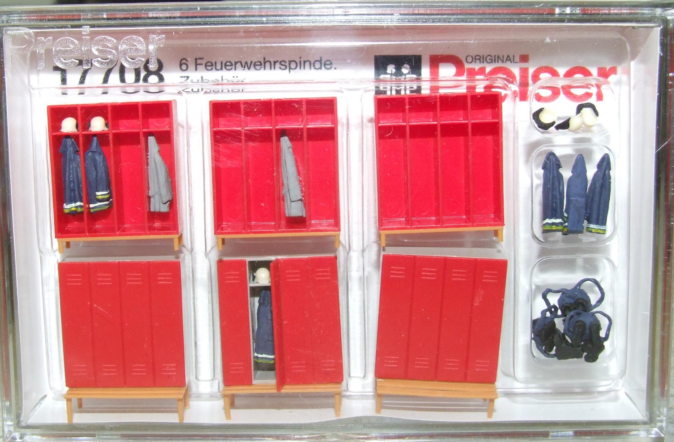 Preiser 17708 Feuerwehrspinde H0 1:87