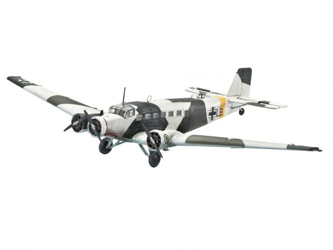 Revell 04843 Bausatz Junkers Ju52/3m im Maßstab 1:144