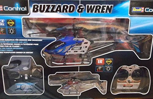 REVELL 23997 Set Buzzard & Wren, RTF, GHz/IR, 3 CH 2 Helicopter im Set