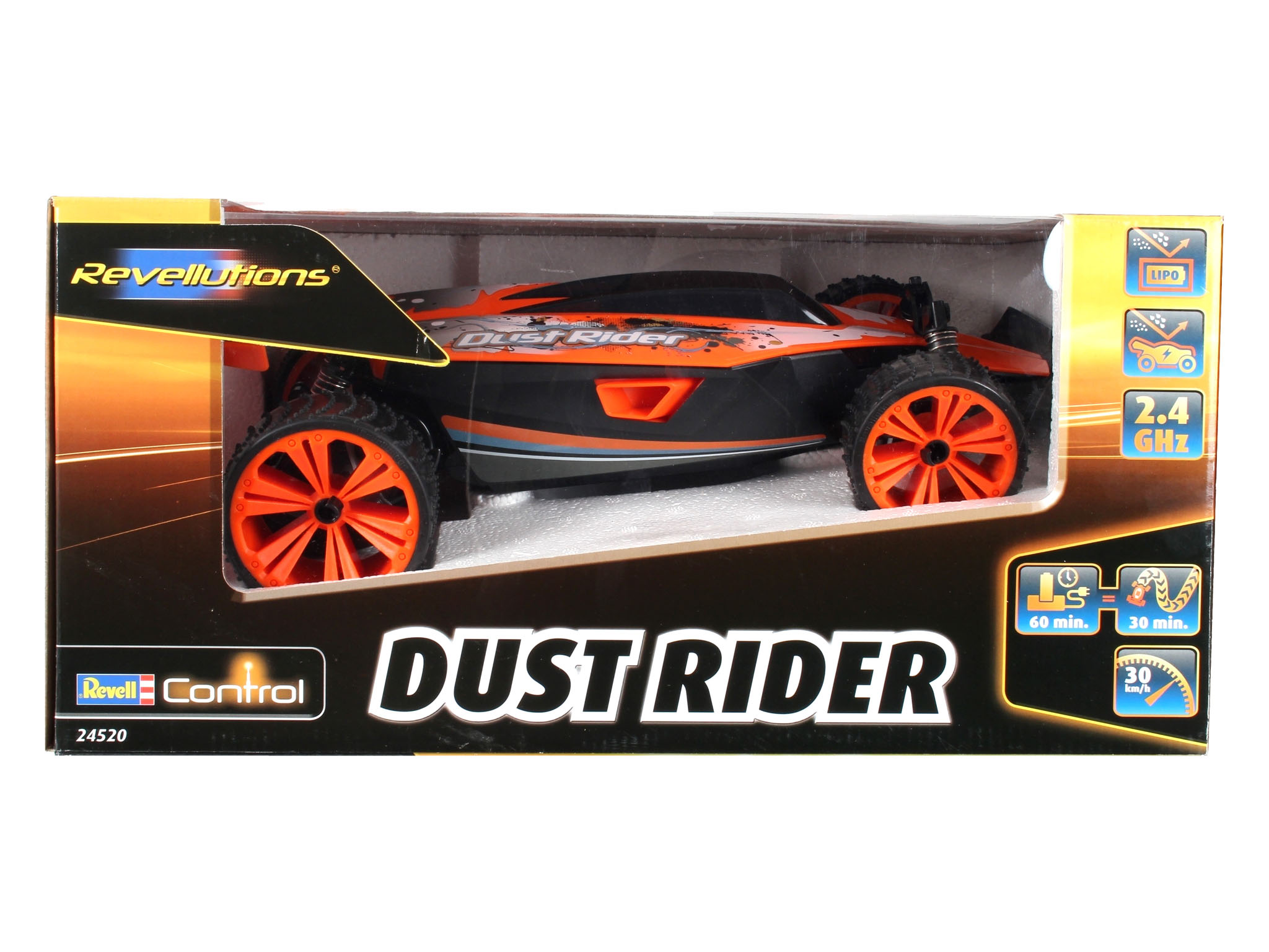 REVELL 24520 RC Dust Rider Buggy GHz,orange/schw 1:14