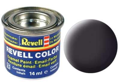 Revell 32106 teerschwarz, matt 14 ml