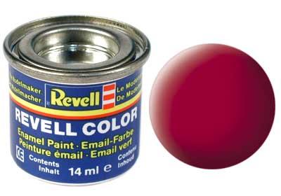 Revell 32136 karminrot, matt 14 ml