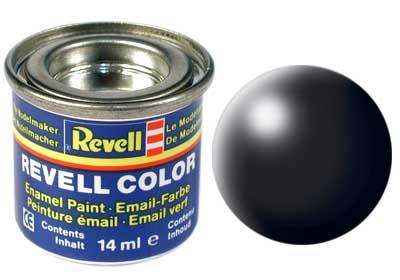 Revell 32302 schwarz, seidenmatt 14 ml