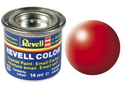 Revell 32332 leuchtrot, seidenmatt 14 ml