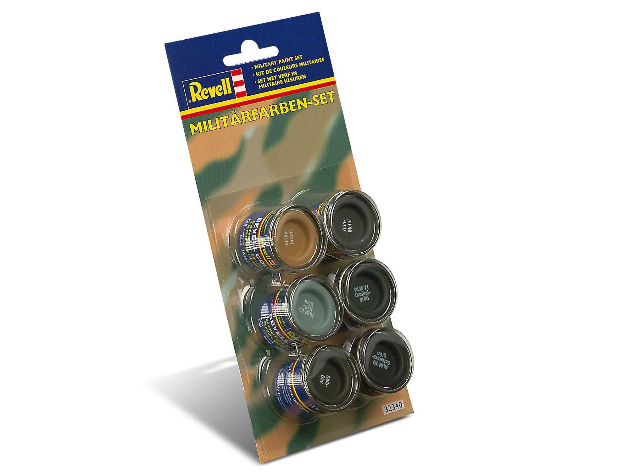 Revell 32340 Militärfarben-Set  6 x 14 ml