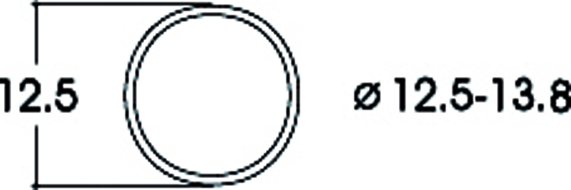 Roco 40066 Haftringsatz  12,5-13,8mm