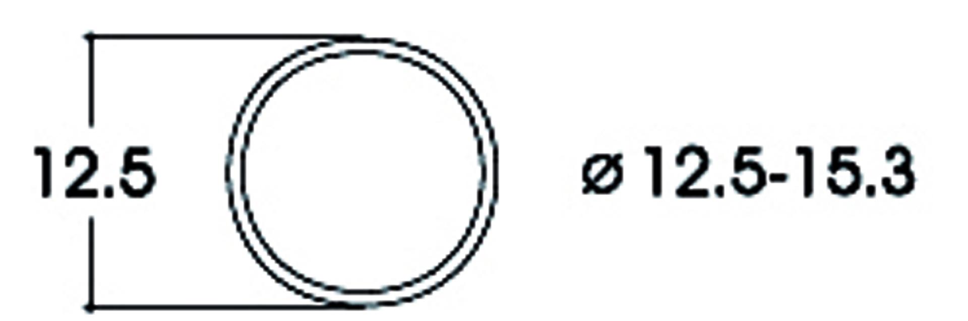 Roco 40075 Haftrings.10Stk.12,5-15,3mm