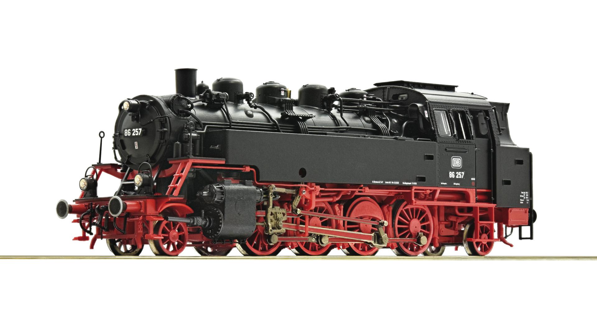 VO Roco 73023 H0 Dampflokomotive BR 86, DB DCC Sound