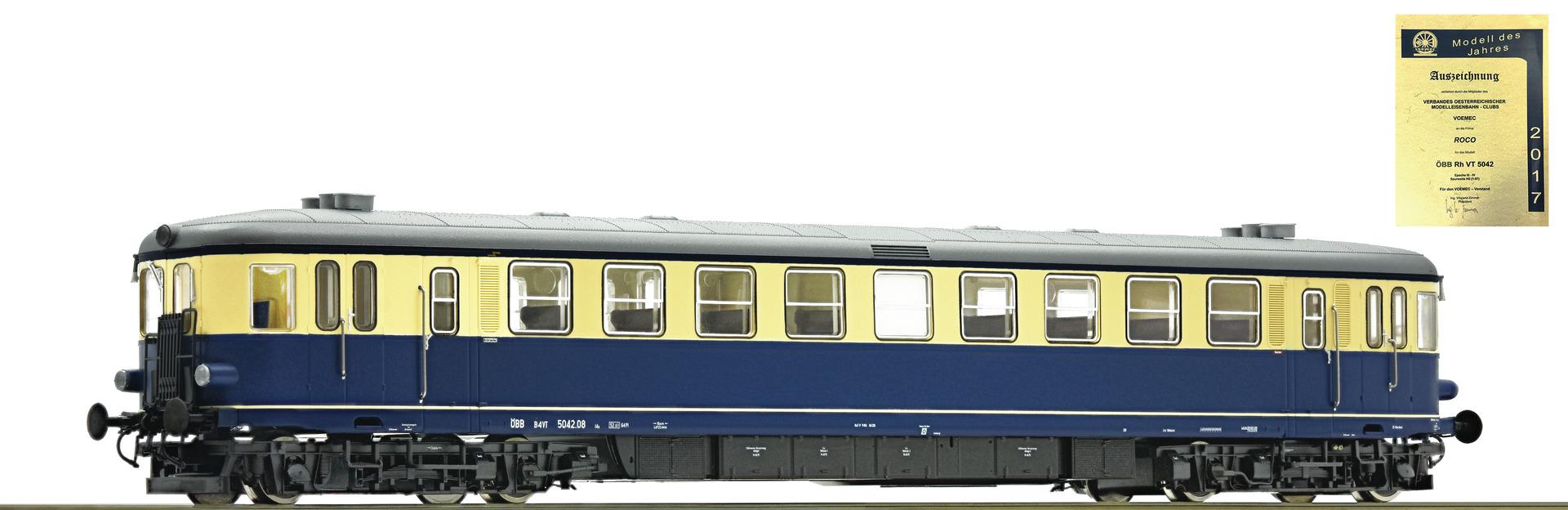 Roco 73143 Dieseltriebwag.Rh 5042 ÖBB Snd