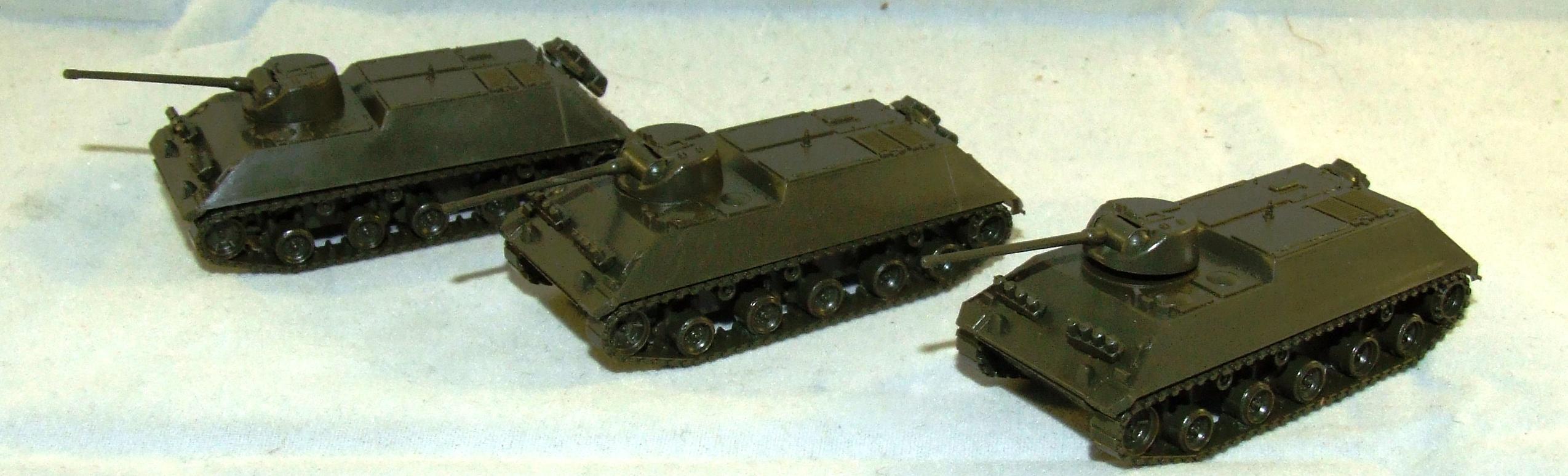3 x 743990 Roco Minitanks Schützenpanzer Zug HS 30 20mm BW  H0 1:87