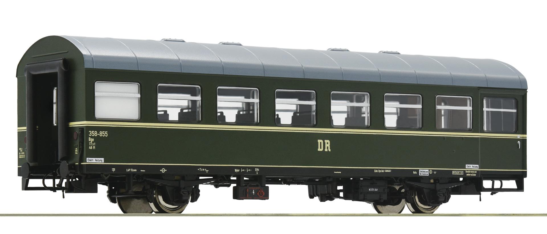 Roco 74459  Rekowagen 2a. Sitzwagen DR    DC