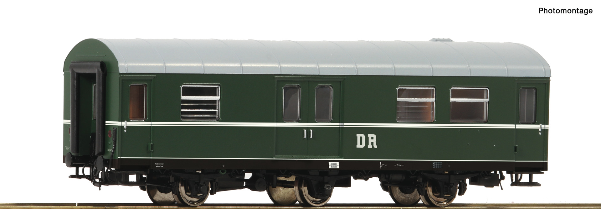 Roco 74462  Rekowagen 3a. Gepäckwagen DR  EP III DC