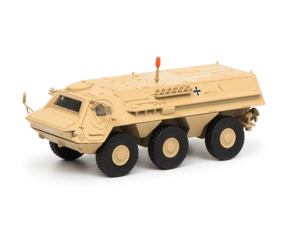 Schuco 452635700 Fuchs Tpz ISAF desert  Bundeswehr 1:87
