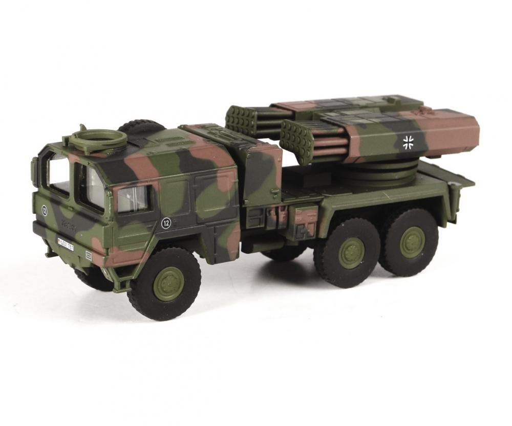 Schuco 452636300 MAN 7t gl KAT1 Raketenwerfer Lars II Bundeswehr 1:87