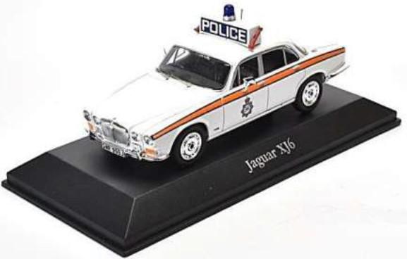 Atlas 4650118 Jaguar XJ6 1:43 Polizei / Police