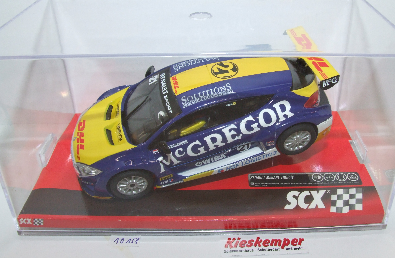 SCX 10A10151 Renault Megane Trophy Cup 1:32 analog NEU & OVP