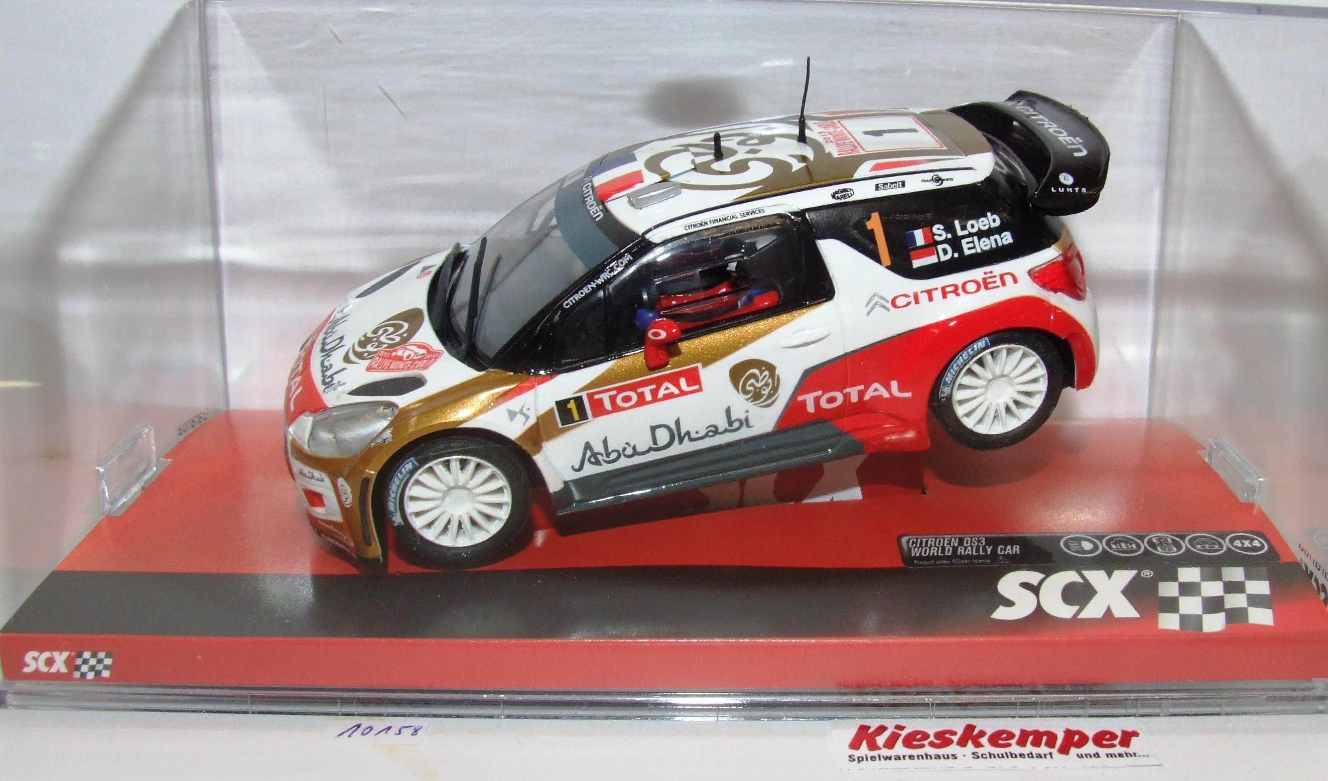 SCX 10A10158 Citroen DS3 Abu Dhabi S.Loeb 1:32 analog NEU & OVP
