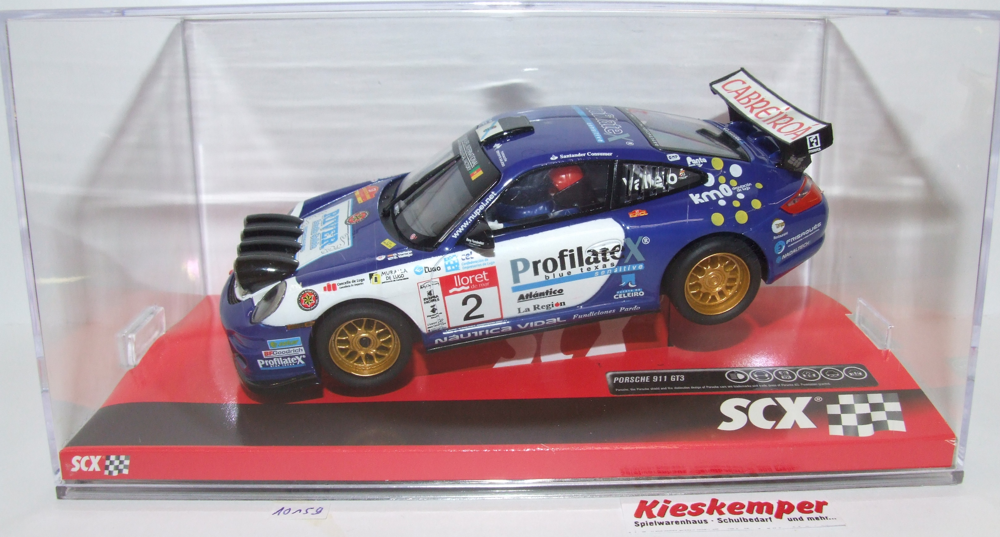 SCX 10A10159 Porsche 911 GT3 Rally Champion 1:32 analog NEU & OVP