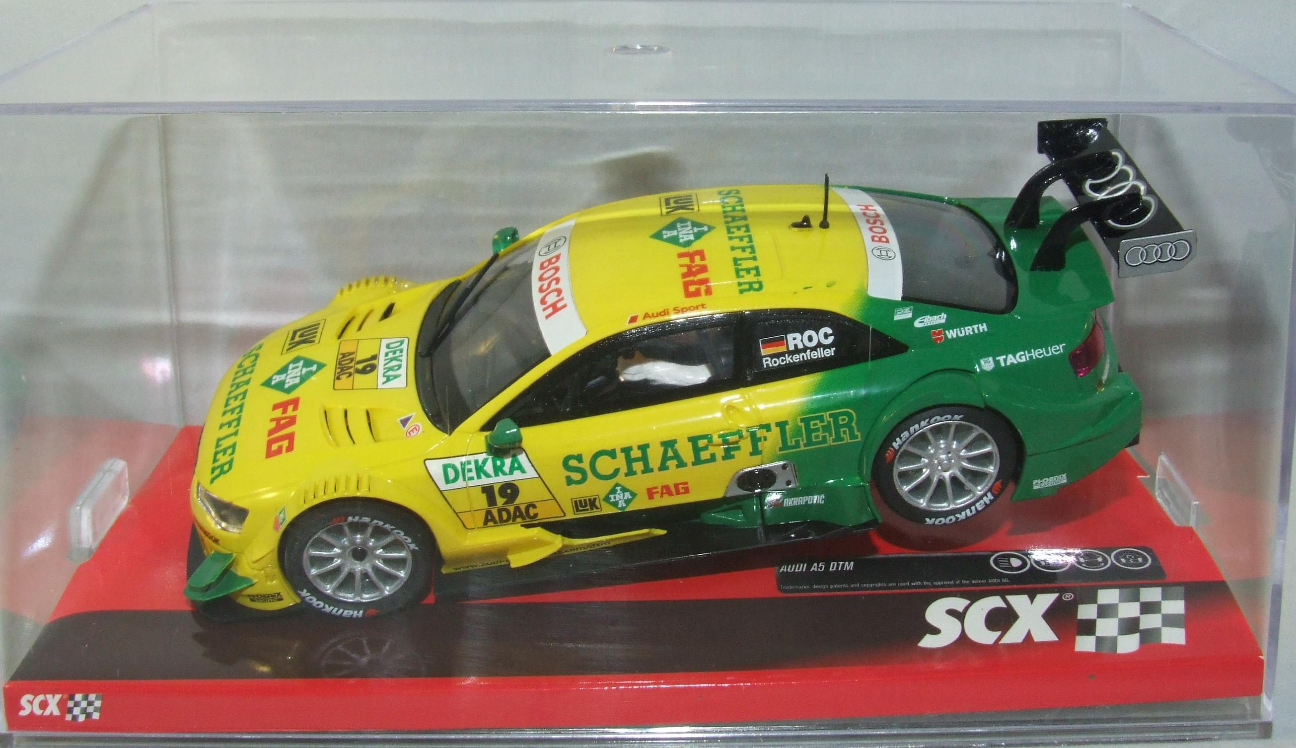 SCX 10A10161X300 Audi A5 Rockenfeller DTM 1:32 analog NEU & OVP