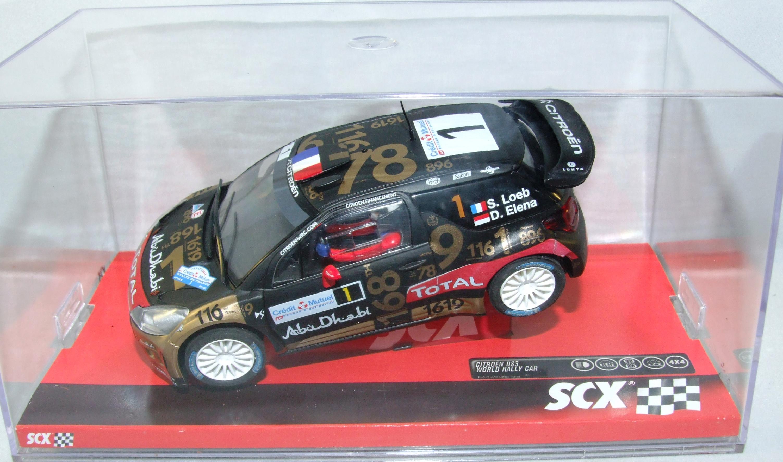 SCX 10A10208 Citroen DS 3 WRC Loeb-Elena 1:32 analog NEU & OVP
