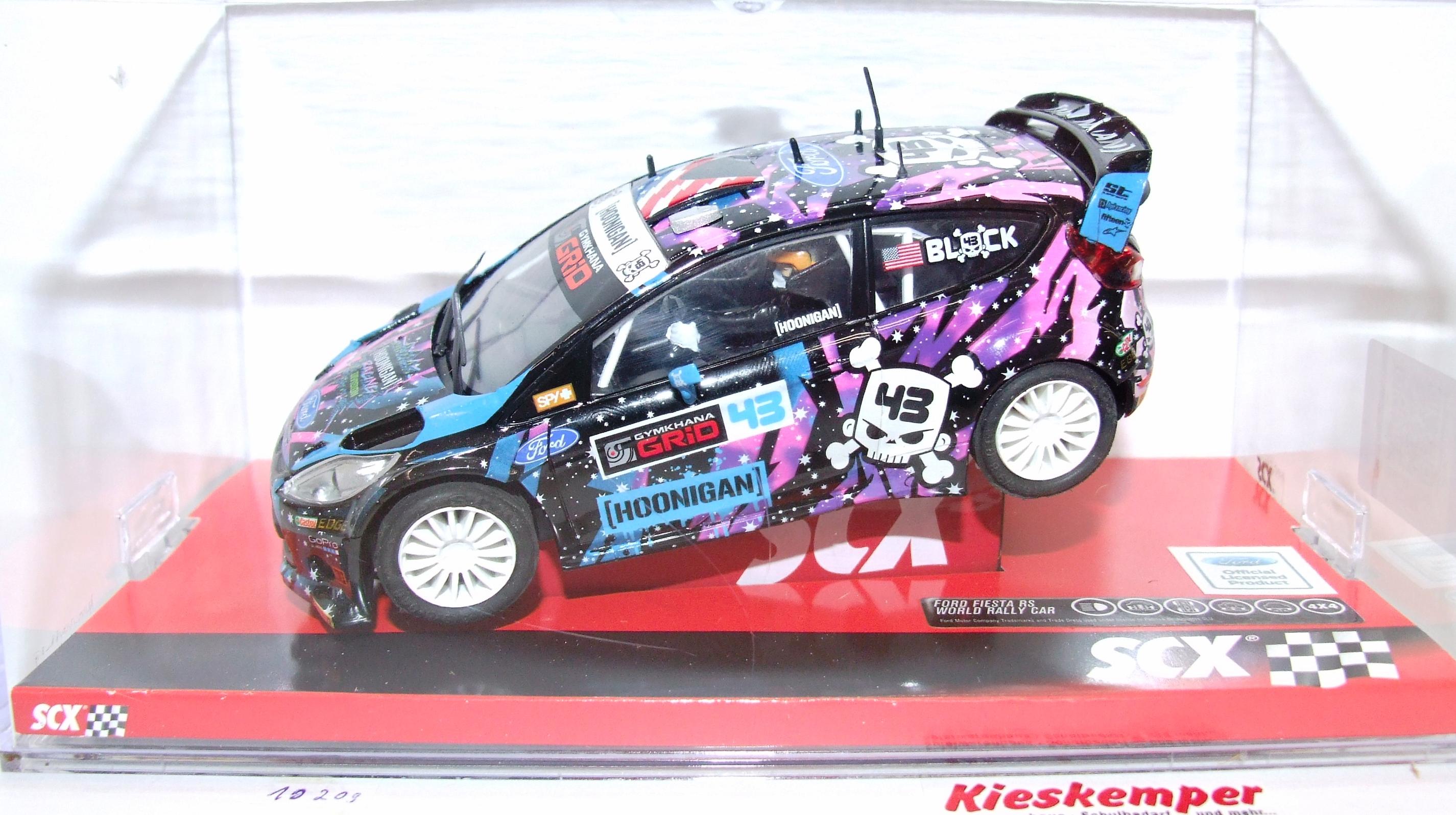 SCX 10A10209 Ford Fiesta RS WRC ST RX43 1:32 analog NEU & OVP