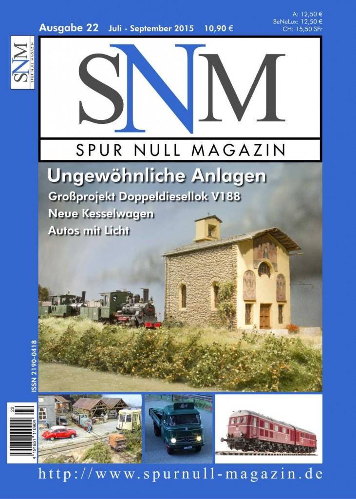 Einzelheft Ausgabe 22 Juli - September Spur Null Magazin
