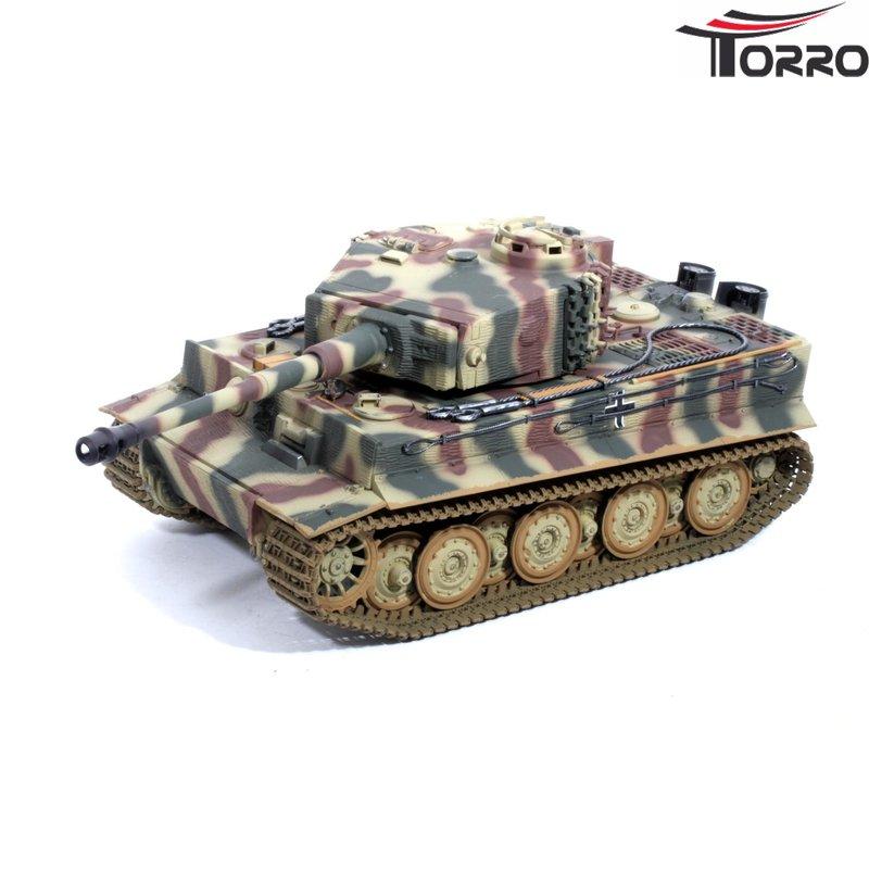 TORRO 1112205224 Tiger I RC PANZER 1/16 mit INFRAROT GEFECHT Airbrush
