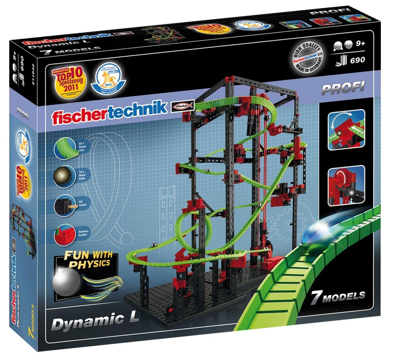 fischertechnik 511932 Dynamik L 7 Modelle 690 Bauteile
