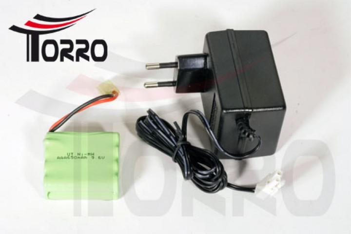 RC TORRO 1219908041 Akku und Ladegerät