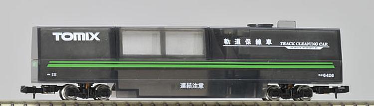 TOMIX 6426 Spur N Schienenreinigungswagen + Staubsauger transparent