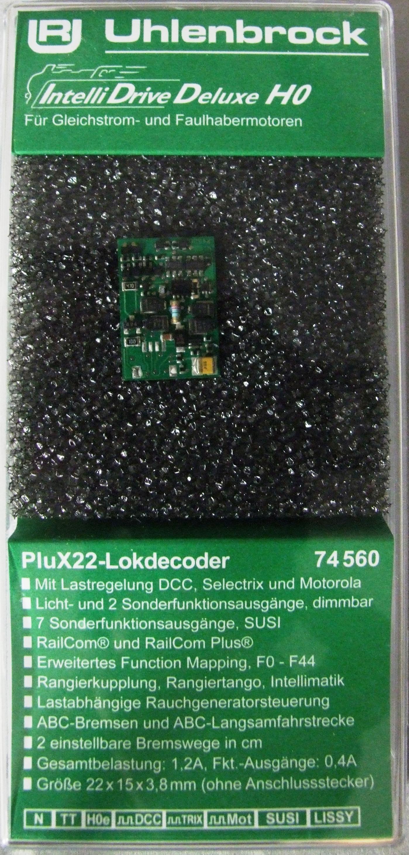 Décodeur UHLENBROCK Plux 22 pour locomotives ROCO UHLENBROCK 76560