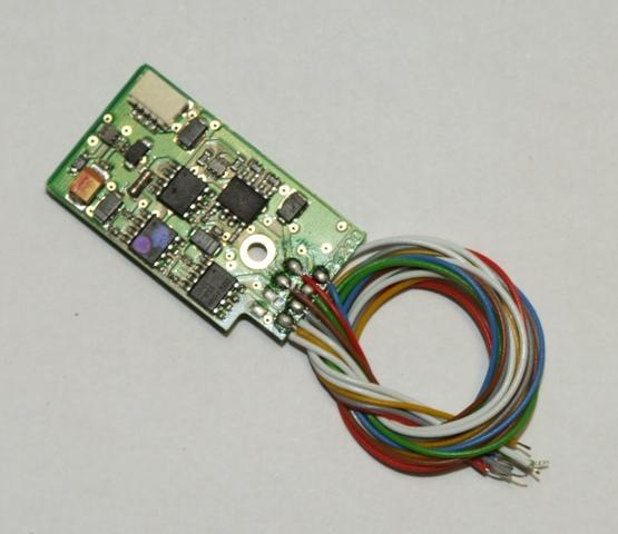 Uhlenbrock Digital Decoder 76200 DCC Motorola 8-polig für Allstrommotoren