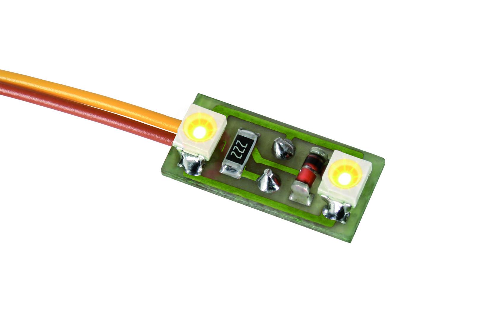 Viessmann 6021 Hausbeleuchtung, 2 LEDs warmweiß