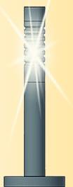 Viessmann 6162  H0 Pollerleuchten mod., LED,3